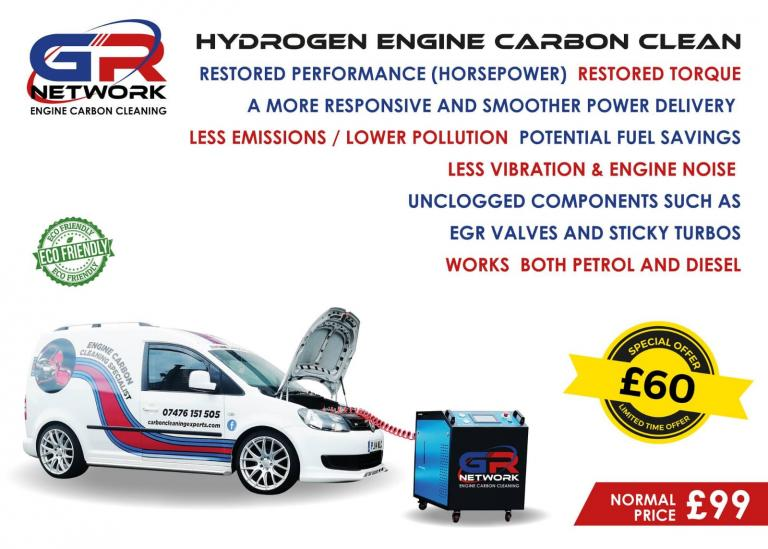Engine carbon cleaning benefits Glasgow, Scotland